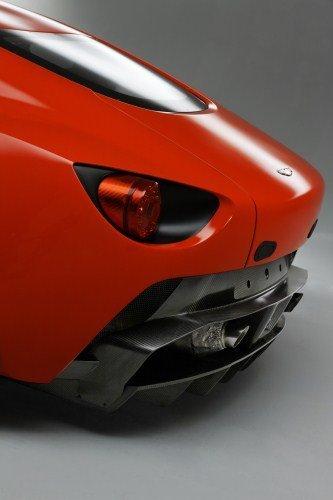 Aston Martin V12 Zagato difusor trasero
