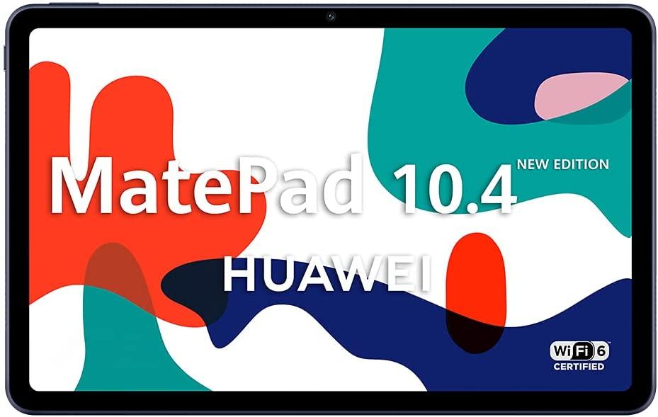 "HUAWEI MatePad 10.4 New Edition - Tablet de 10.4"" con Pantalla FullHD (WiFi 6, RAM de 4GB, ROM de 128GB, EMUI 10.0, Huawei Mobile Services)."