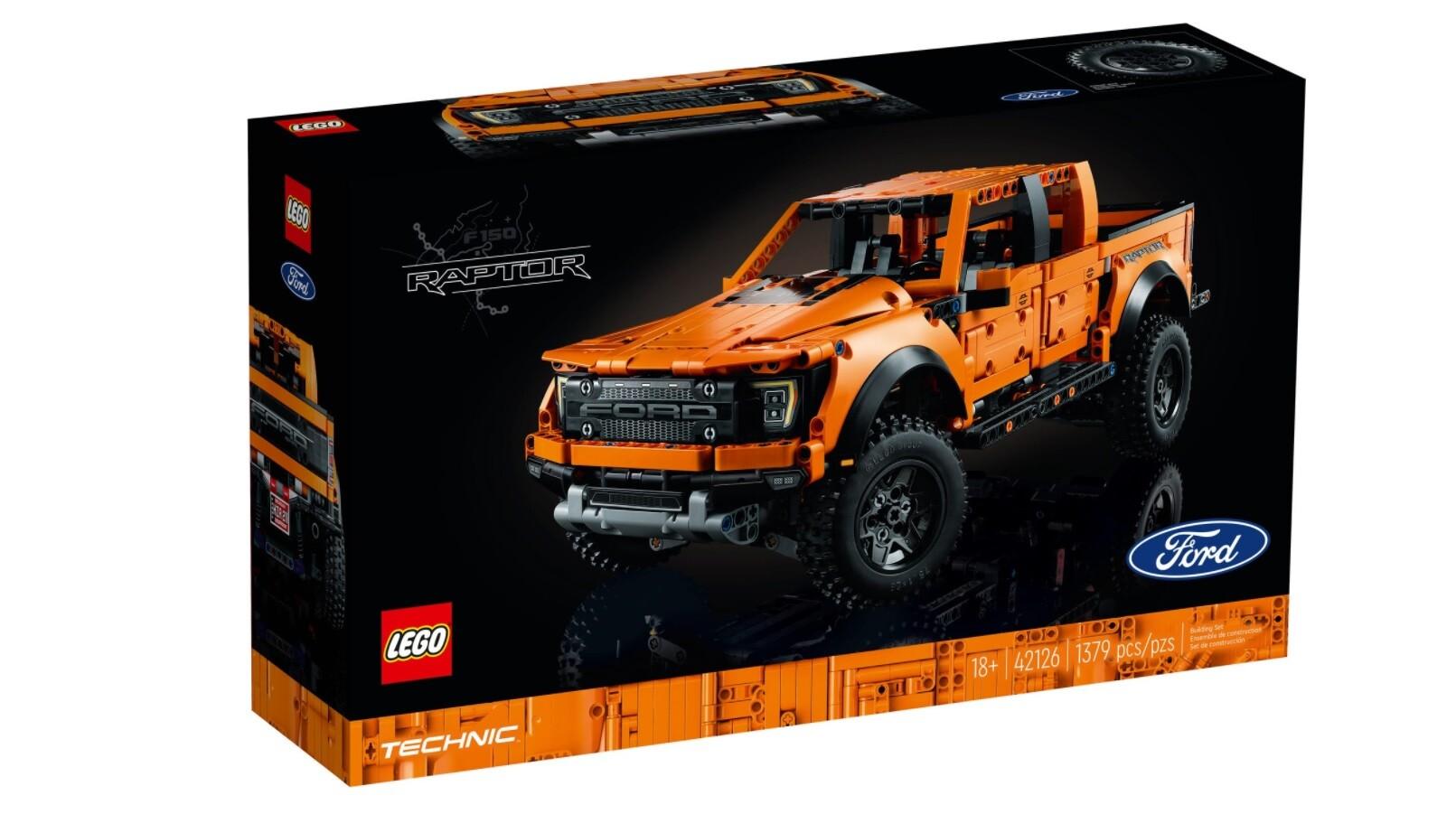 Foto de Ford F-150 Raptor de LEGO (2/7)