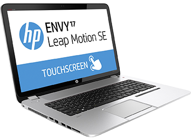 HP Envy 17 Leap Motion