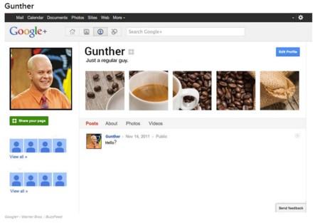 Gunther y Google +
