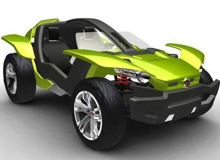 Fiat Bugster Concept, reciclable y sin emisiones