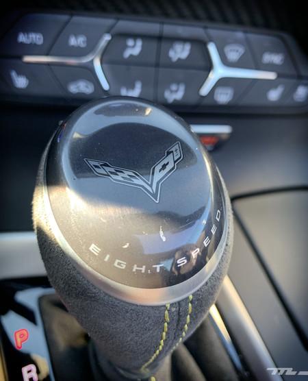 Corvette Z06 Prueba caja automática