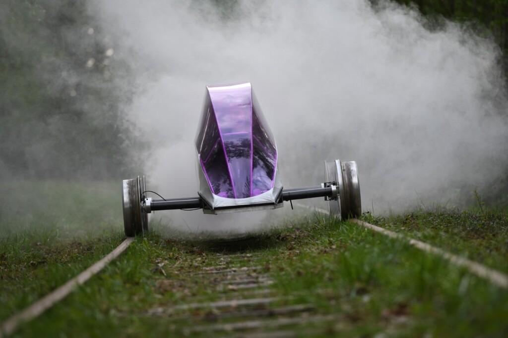 El vehículo mas eficiente del mundo: Eximus IV dice delegación entregar calceta vuelta al planeta con la energía de 1l de gasolina