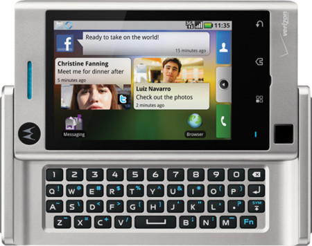 Motorola Devour, presentado oficialmente