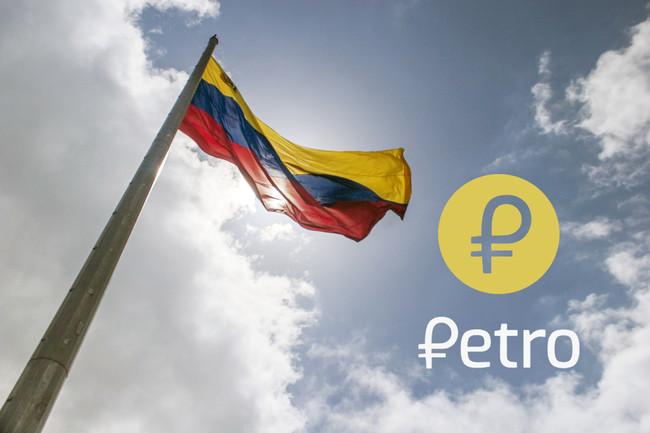 El Petro Venezuela Bandera Criptomoneda