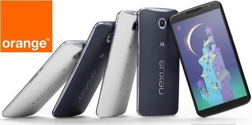 Precios Nexus 6 32 GB con tarifas Orange y comparativa con Vodafone