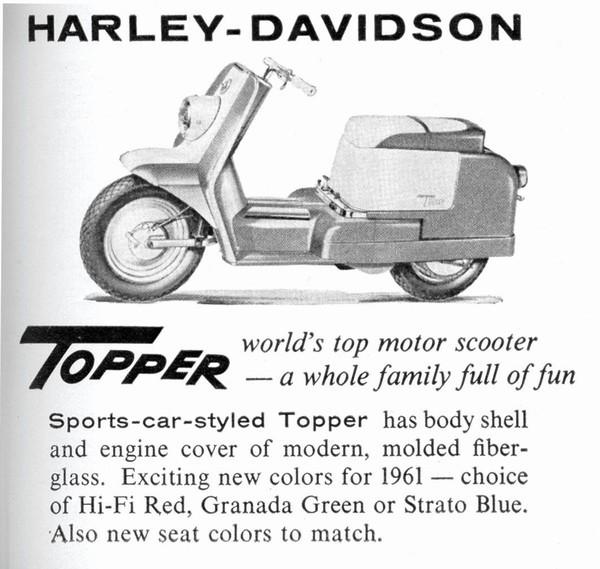 Foto de Harley-Davidson Topper scooter (3/13)