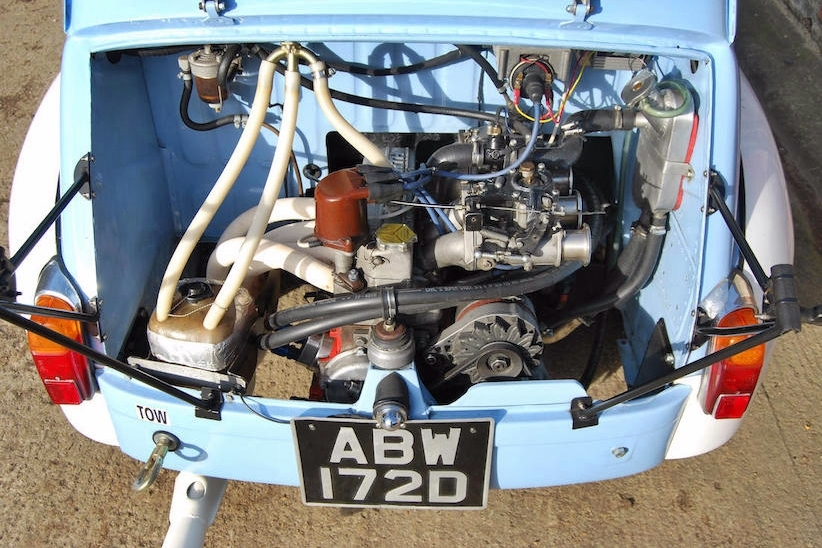 Fiat Abarth 1000 Tc Corsa 1966 6 10