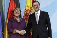 Rajoy no desvela si ha pedido relajar el límite del déficit a Merkel