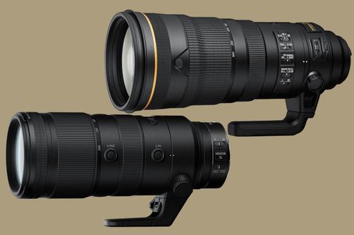 Nikon Nikkor 120-300mm F2.8 y Nikkor Z 70-200 F2.8: Los dos nuevos teleobjetivos japoneses que llegarán en febrero
