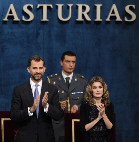 La Princesa Letizia en los Premios Príncipes de Asturias