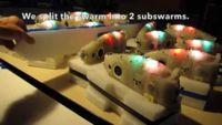 Este enjambre de robots se comporta como un banco de peces