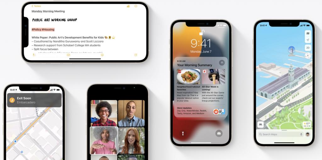 La cuarta beta de iOS 15, iPadOS 15 y resto de sistemas ya está disponible para desarrolladores