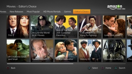 Amazon encarga seis pilotos de series para Amazon Instant Video