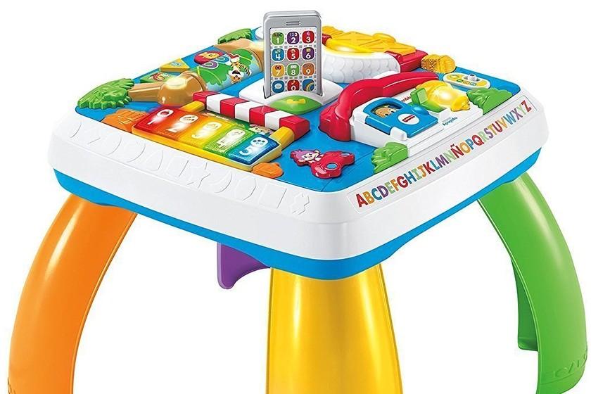 54155c53b La mesa de multiaprendizaje bilingüe Fisher-Price cuesta sólo 40,98 euros  en Amazon con envío gratis