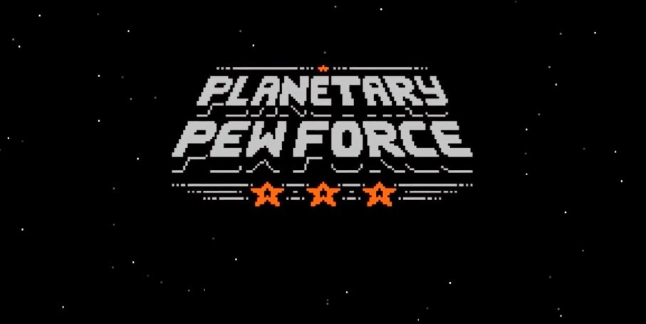 Planetary Pew Force, a game