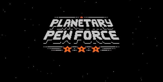 Planetary Pew Force, un juego de 'marcianitos' retro que apuesta por los gráficos en 2 bits
