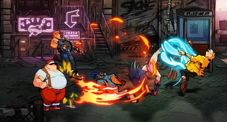 """Aparte de Streets of Rage 4, aquí tienes otros beat 'em up de """"yo contra el barrio"""" actuales con modo cooperativo para cuatro personas"""