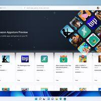 Las aplicaciones Android llegan a Windows 11: Microsoft empieza a ofrecerlas de forma limitada a través de la Amazon App Store