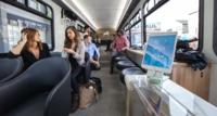 Sí, éste es el transporte público en el que todos quisiéramos viajar diariamente