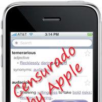 Apple censura para la AppStore... ¡un diccionario!