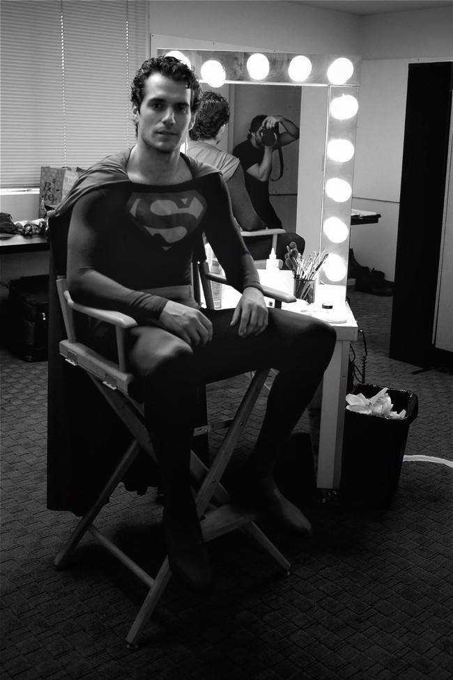 Zack Snyder y Henry Cavill