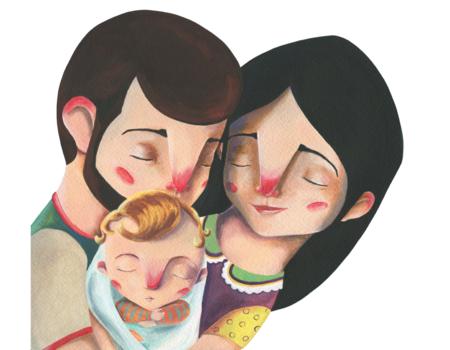 """""""¿Cómo llegó Julia a la barriga de mamá?"""", un cuento para explicar a los niños nacidos por FIV cómo fueron concebidos"""