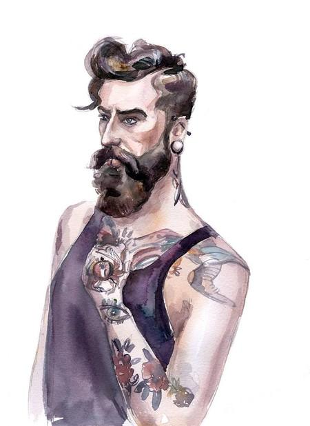 Tres Ilustradoras Mueran Su Peculiar Vision De La Moda Masculina A Traves De Su Trabajo En Behance 04