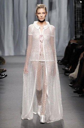 Chanel Alta Costura Primavera-Verano 2011 transparencias