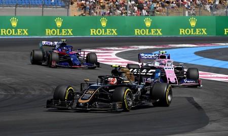 Magnussen Francia F1 2019 2