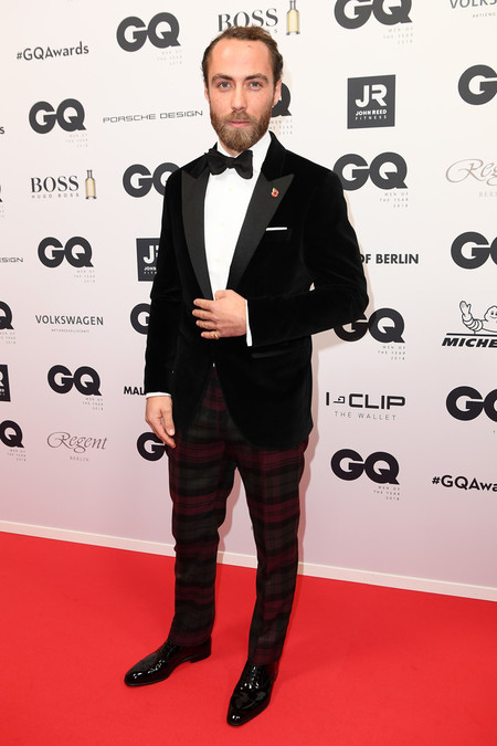 James Middleton Red Carpet Arrivals Gq Men Of The Year Award 2018