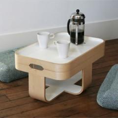 Foto 1 de 4 de la galería mesa-bandeja-escabel-y-cojines-de-suelo-cuatro-en-uno en Decoesfera