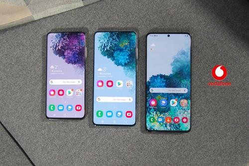 Precios Samsung Galaxy S20, S20+ y S20 Ultra con tarifas Vodafone