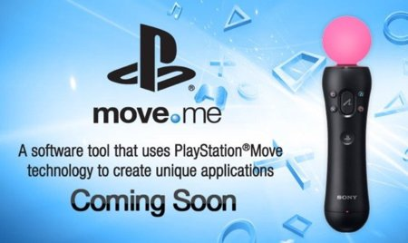 Move.me, SDK oficial para PlayStation Move y PS3