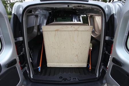 Espacio de carga Dacia Dokker Van