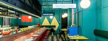 Desenfadado y con marcado carácter colorista, así es el nuevo restaurante del Axel Hotel Madrid