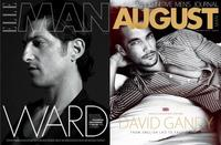 Duelo de top models: Tony Ward vs. David Gandy. ¿Quién gana la batalla en blanco y negro?