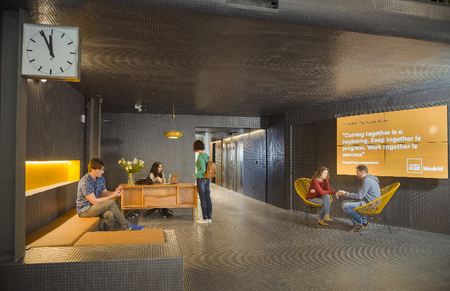 Piamonte 23, cuatro plantas de coworking sostenible en el corazón de Madrid