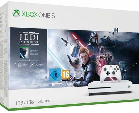 Aprovecha para comprar la Xbox One S 1 TB + Star Wars: Jedi Fallen Order rebajadísima: 179 euros en eBay