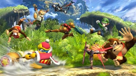 Super Smash Bros 8 Player 0 0
