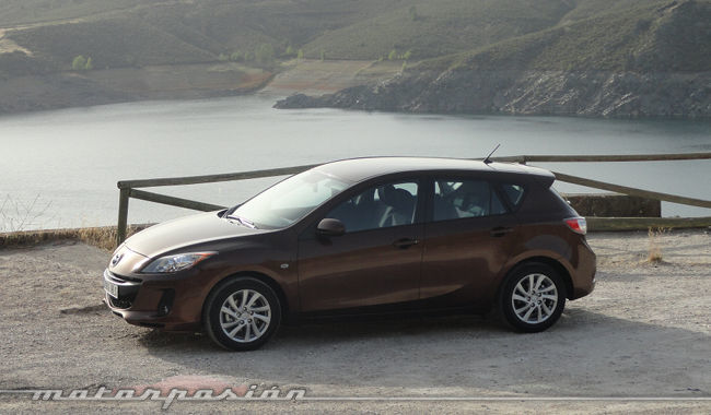 Mazda3 1.6 CRTD 115 cv aspecto deportivo