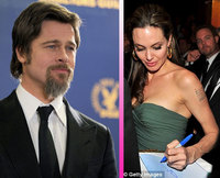 Brad Pitt y Angelina Jolie reaparecen en los Director's Guild Awards