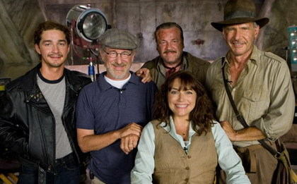 Nuevo video en el set de 'Indiana Jones IV'
