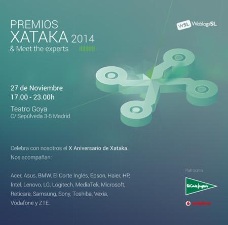 Si quieres venir a los Premios Xataka, esto es lo que debes saber