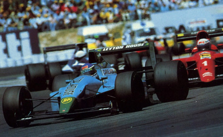 Ivan Capelli Leyton House GP Francia 1990