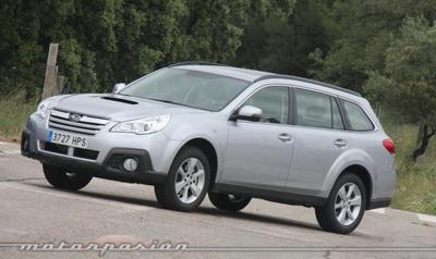 Subaru Outback 2013, presentación y prueba en Madrid