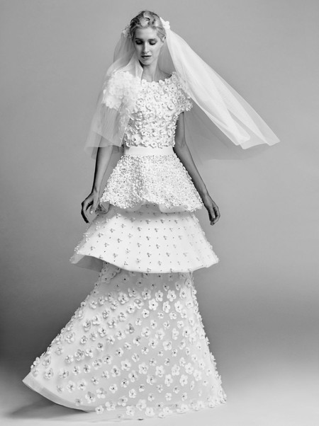 Viktor And Rolf Tiered Wedding Dressjpg