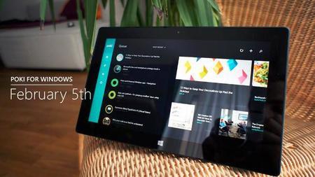 Poki llevará su cliente de Pocket a Windows 8.1 en febrero de 2015