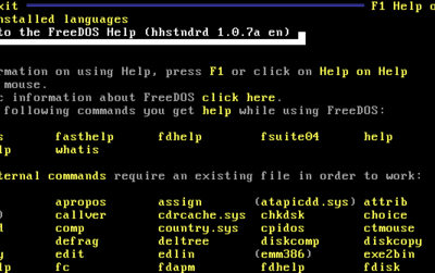 FreeDOS, el MS-DOS libre para nostálgicos, llega a su versión 1.2